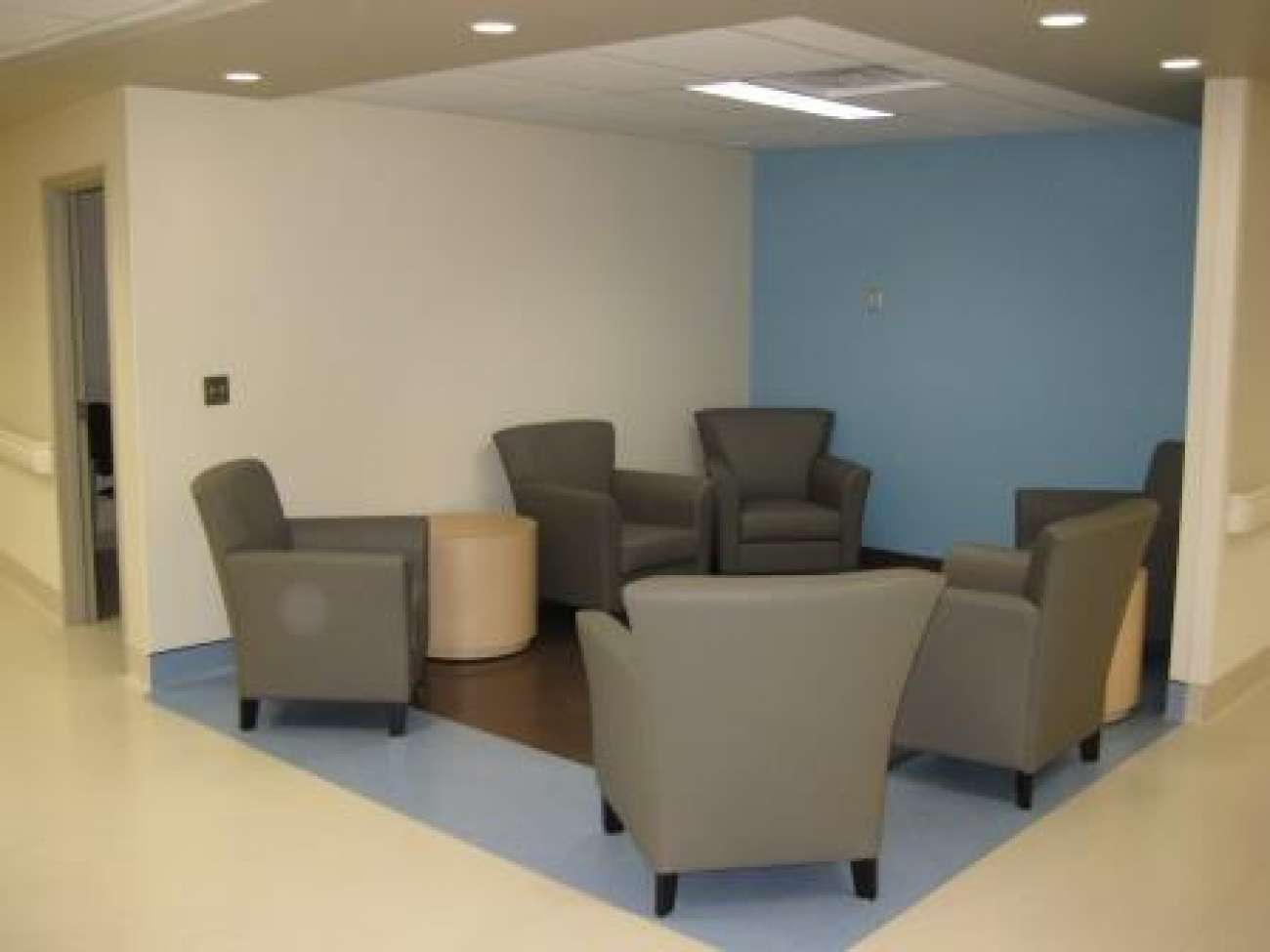 Lounge space in mental health