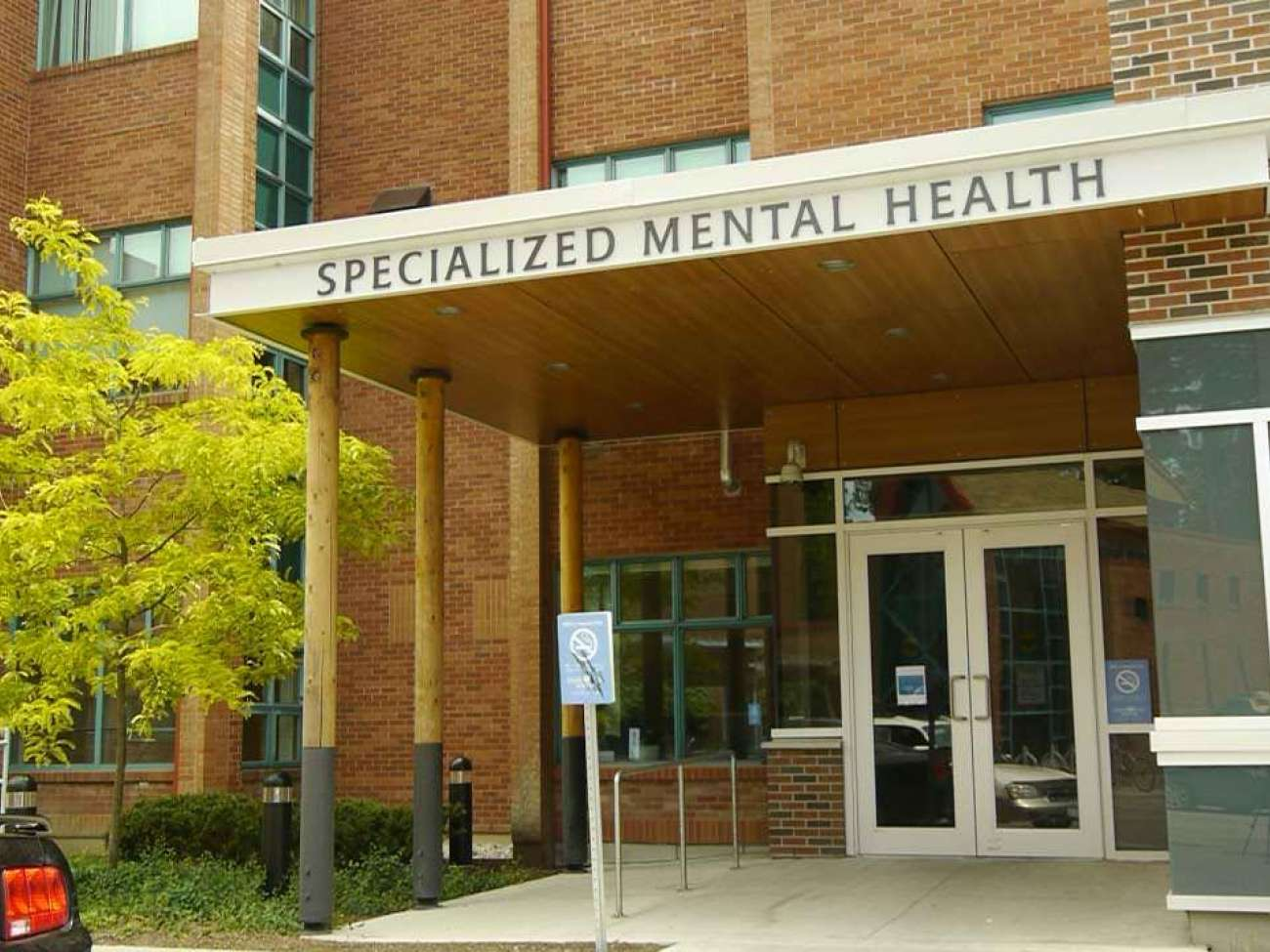 Specialized mental health entrance