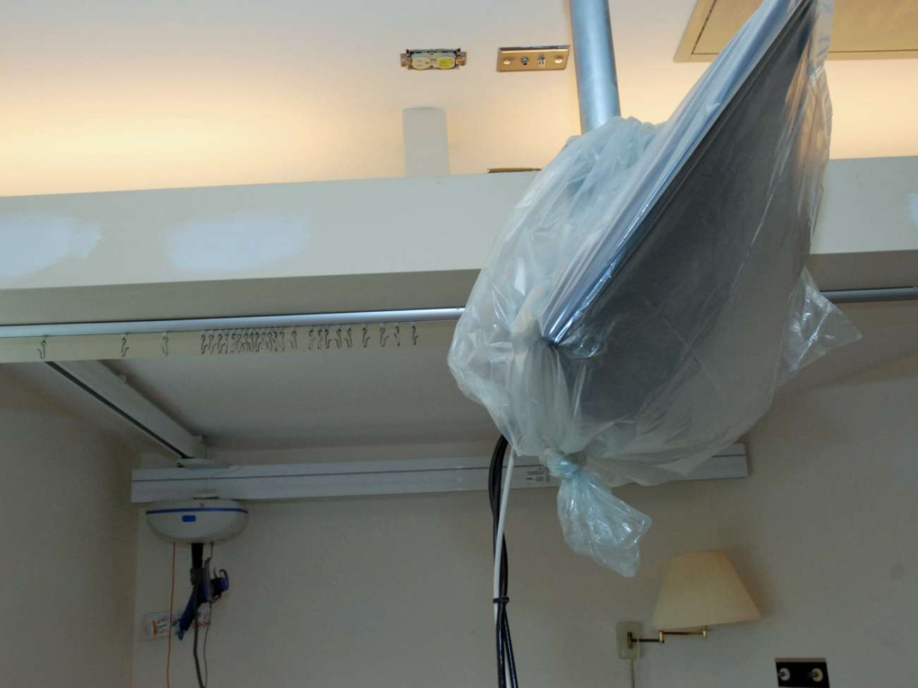 As GRH completes health infrastructure renovations, new patient lifts and televisions are being installed.