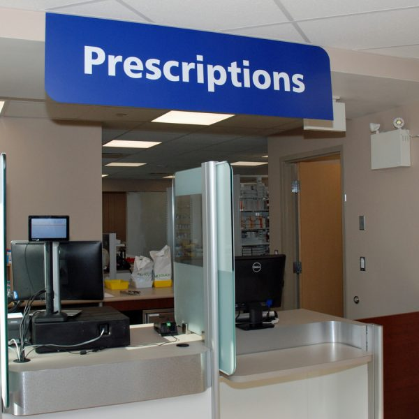 GRH pharmacists work in the Health Care Centre Pharmacy, providing their compassion and expertise to supporting patients and families.