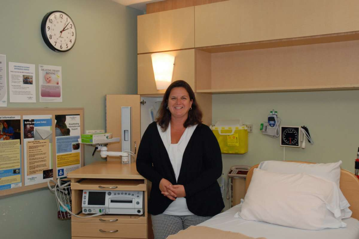 Sheri Douglas In Childbirth Room