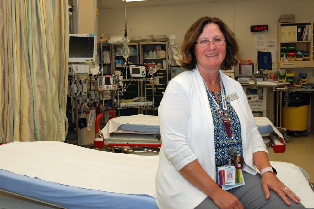 Jill Schitka In Emergency Department Trauma Room