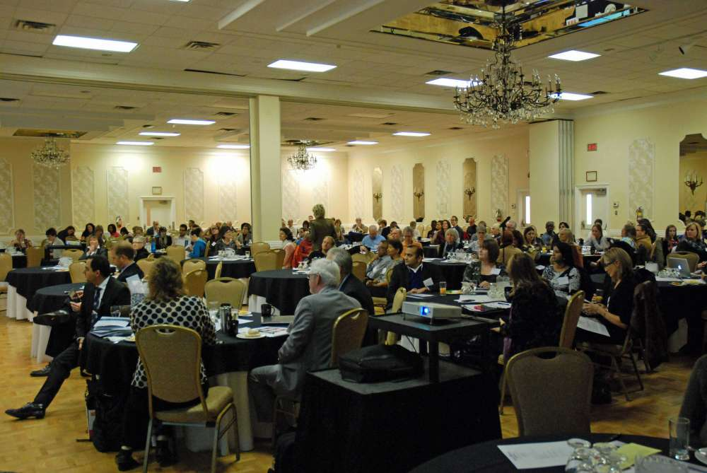 A full conference room at GRH's Day in Psychiatry