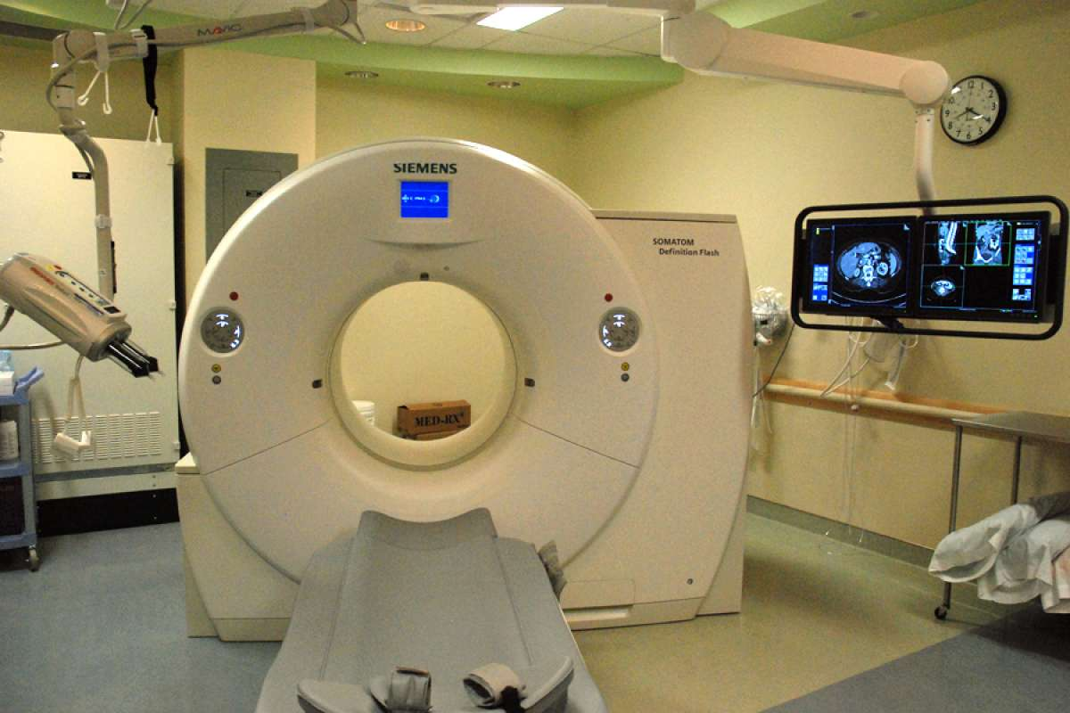 GRH's new CT scanner