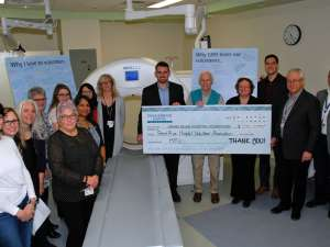 A donation of $200,000 from the Grand River Hospital Volunteer Association will help to buy an advanced new MRI scanner for Waterloo Region patients.