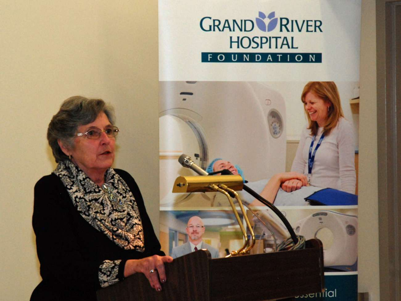 Sandy Weiler speaks about how a CT scan helped save her life during a stroke.