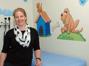 Lynn Rogers, registered dietitian in childbirth and children's