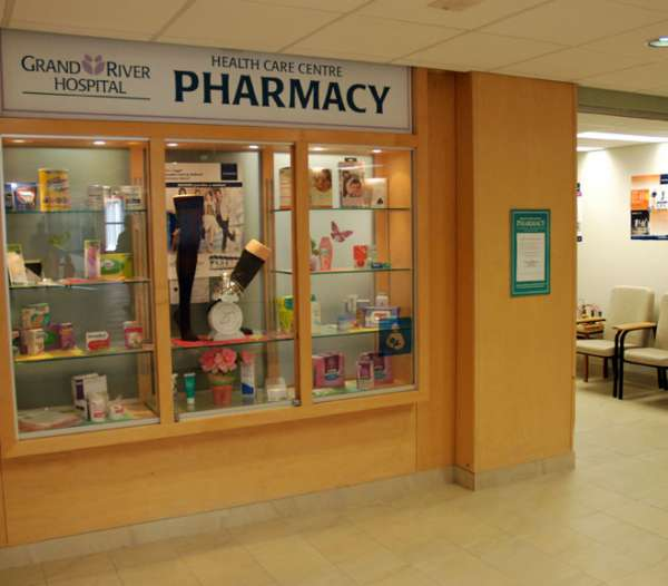 A photo of the Health Care Centre Pharmacy
