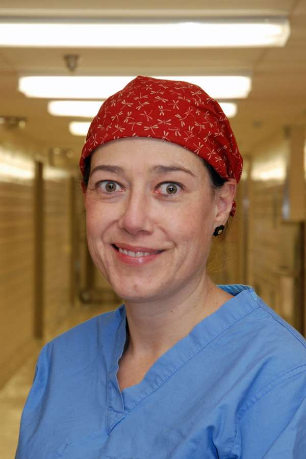 Dr. Monica Torres is a general surgeon at GRH and the surgical champion for the hospital's ACS NSQIP initiative.