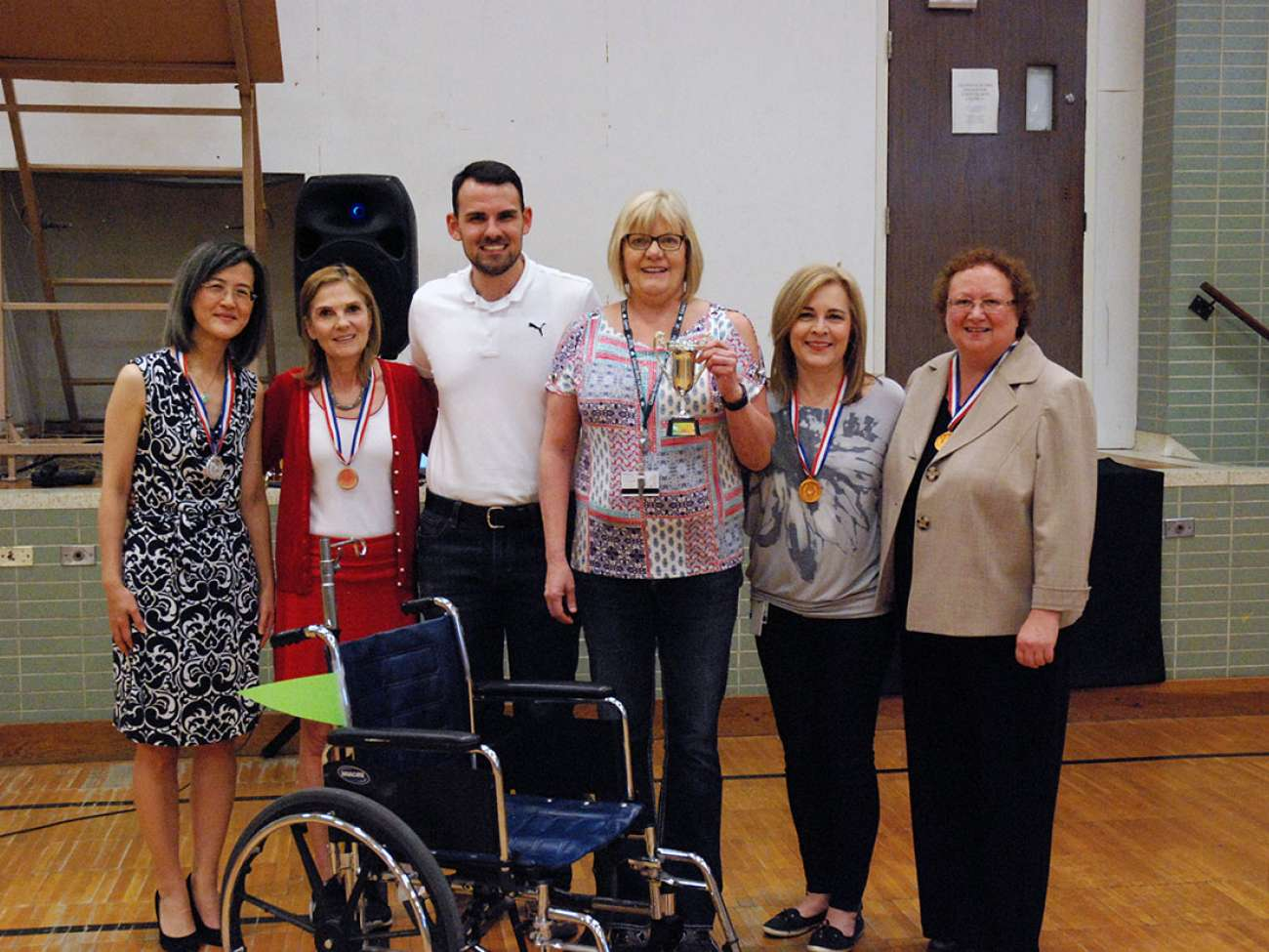 In the end, patients and families all come away the winners through a better fleet of wheelchairs at GRH.