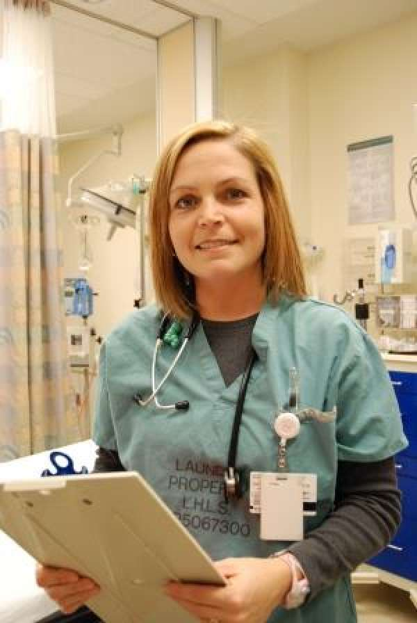 One of GRH's emergency nurse practitioners