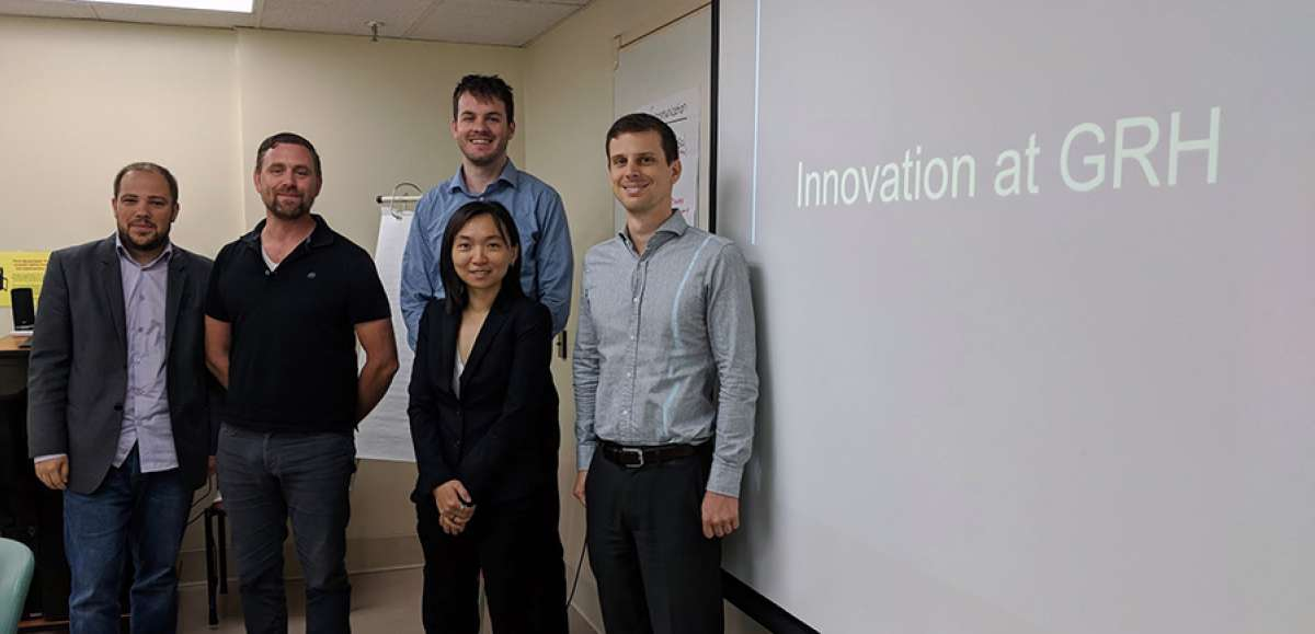 grh s office of research innovation collaborates with laurier mba